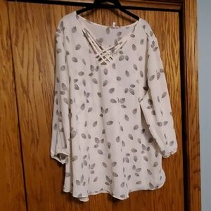 Maurices tunic, size 3 (plus)